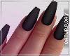 C| Coffin Nails - BLACK