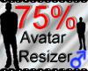 *M* Avatar Scaler 75%