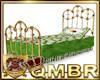 QMBR Bed Victorian Brass