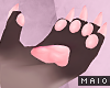 🅜 PINKU: paw claws m