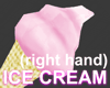 Ice cream right hand (M)