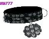HB777 Blk Diamond Collar