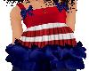 Red White Blue Ruffletop