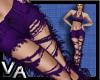VA Ripped Jeans Purple