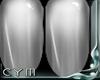 Cym R. Silver Nails