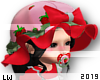 Kid Strawberry Hat