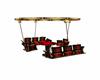 Red & Gold Swing Tbl set