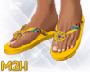 ~2~ Tropical Flip Flops