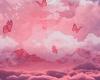 B Pink Skies Burteflys