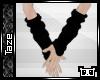 -T- Black Arm Warmers