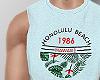 r. Honolulu Tank Blue