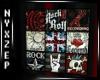 Rock Legends UK Poster