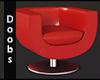 Drv. LeatherTulip Chair