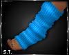 ST: Sweat : Socks Blue