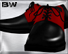 Black Red Xmas Shoes
