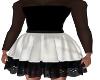 Kids-Black/White Dress