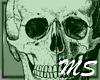 Green Skull Aura