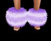 Purple Ankle Cuffs Uni