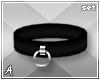 A| Black Cuff Set (F)