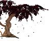 dark red tree