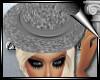 d3✠ Glitter Hat Silver