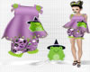 Kid Hallow Frog OutFit