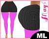 ML Mini Skirt Mesh