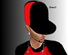 Black and Red Fitted