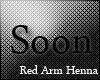 [8mr] Red Arm Henna L+R
