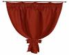 Curtains Brick Red