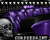Purple Mist Long Couch