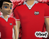 Sikk Polo: Red