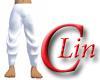 Pure White Gi Pants