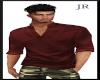 [JR] Stylish Silk Red