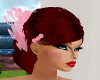 {DS}Red N Pink Lace Hair