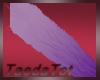 purple furr tail