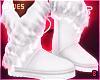 в. Winter Boots White