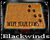 BW| Wipe your Paws