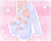 F. Lovely Heels Blue