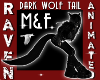 (M&F) DARK WOLF TAIL!