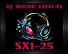 DJ Sound Effects SX1-25