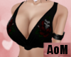 ~AoM~ Skull Rose Top