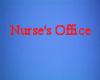 NURSE OFFICE SIGN
