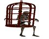 Caged Skelleton