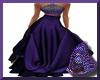 Purple Starlite Gown