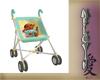 Pooh stroller & Baby