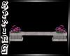 *S* Mall bench/flowers