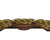 Rustic Round Sofa