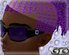 black with royalblue gem