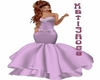 Pink Fishtale gown